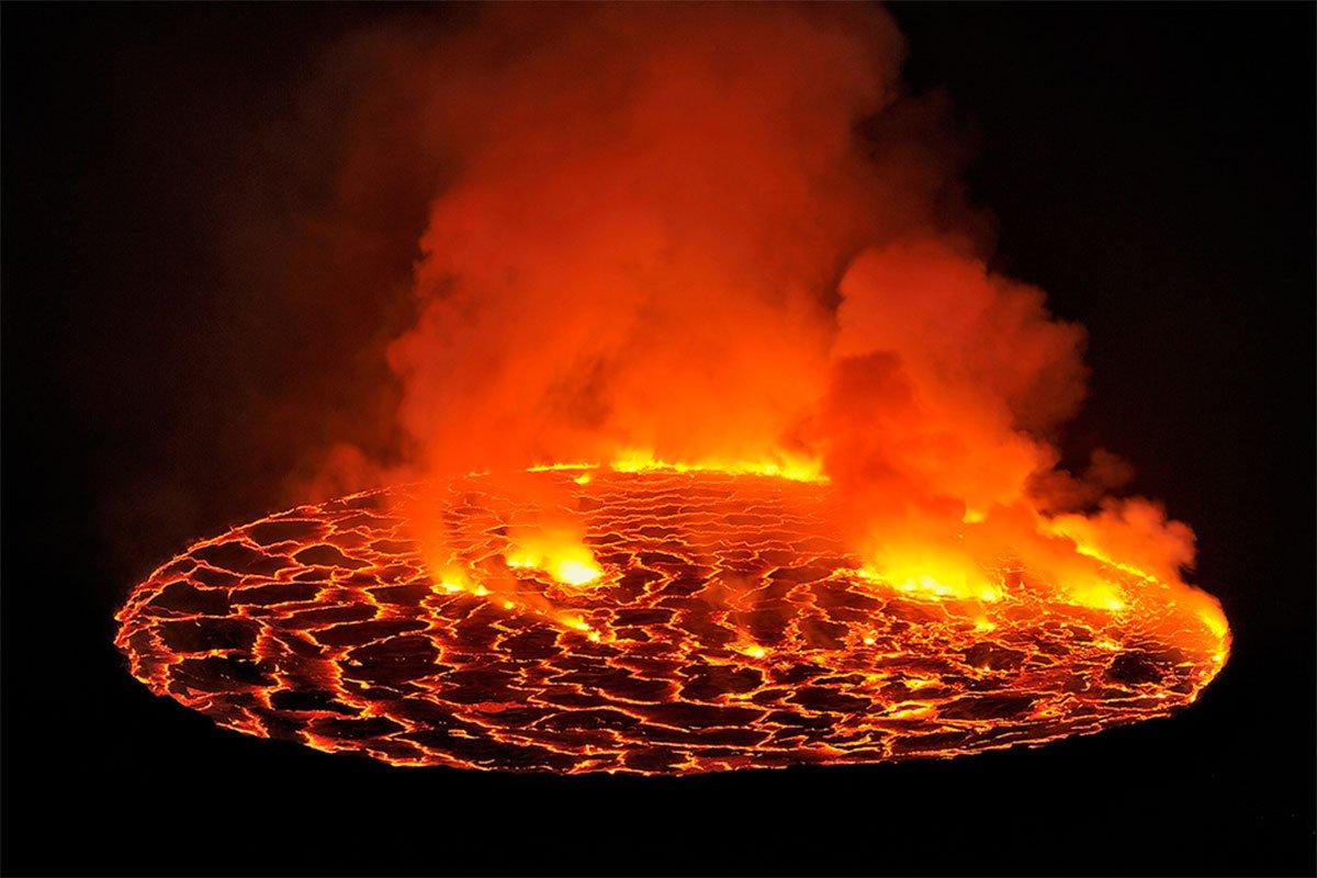 2 Days mount nyiragongo volcano hiking safari