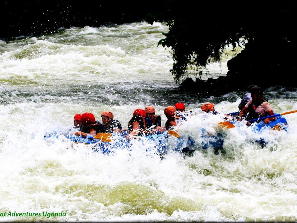 White water rafting in Jinja, Great adventures Uganda