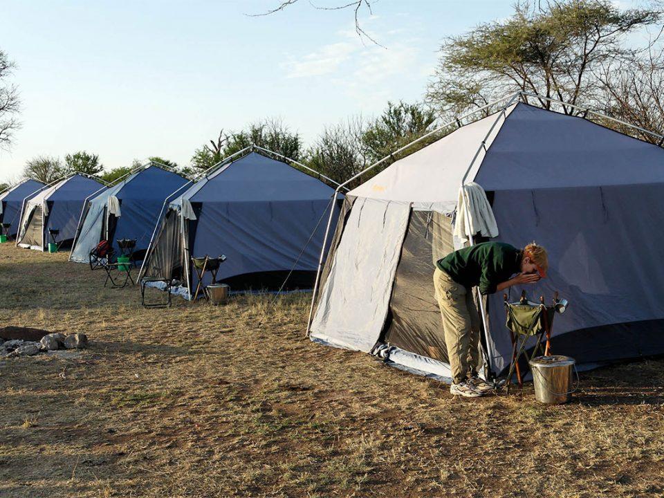 7 days Tanzania camping safari
