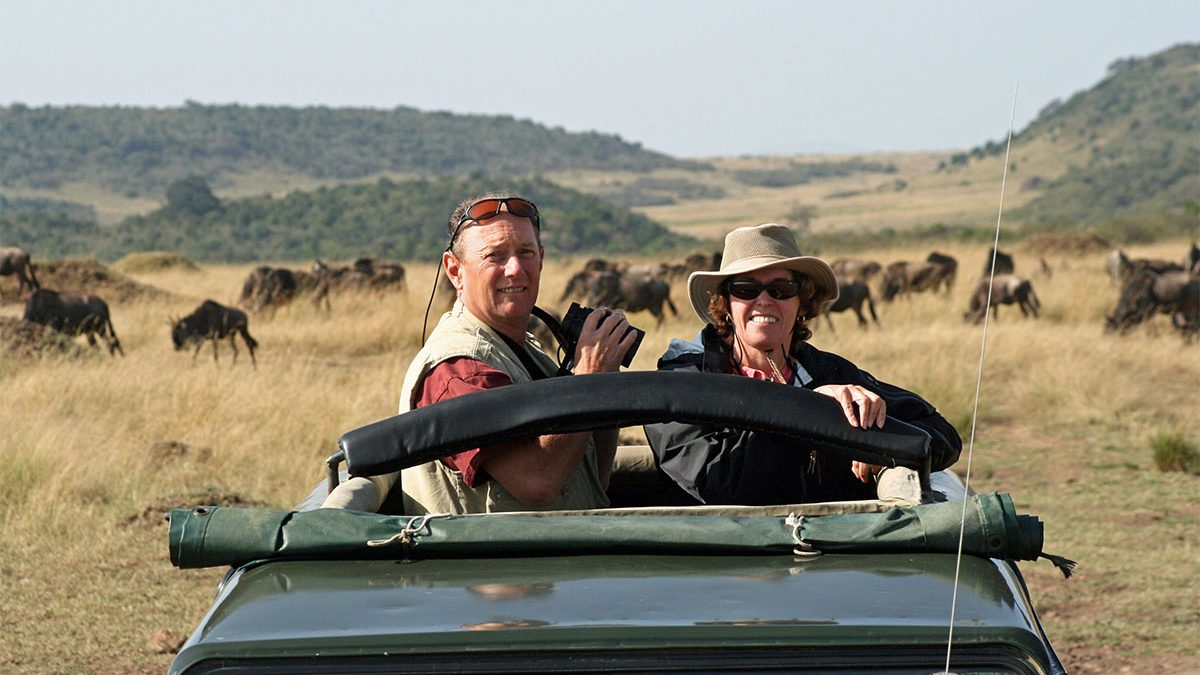 A typical day on safari in Africa