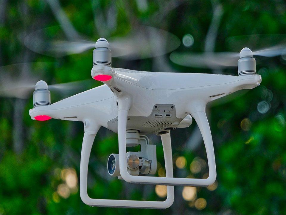 Aerial filming in Uganda