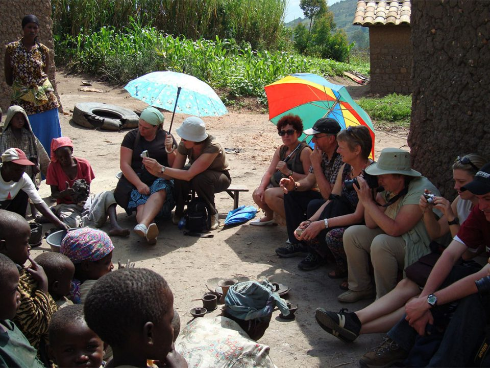 Batwa trail experience in Mgahinga