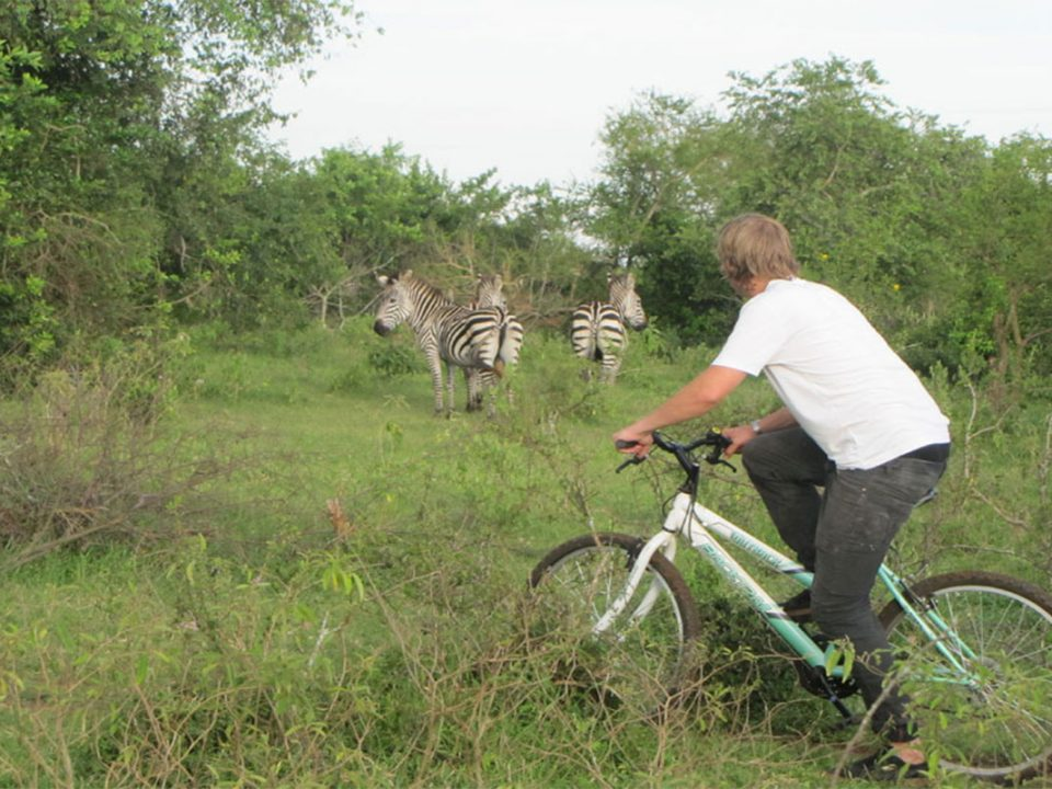 Biking safaris in Lake Mburo