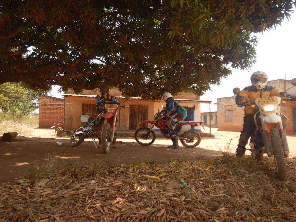 Motor biking in Lake Mburo National park