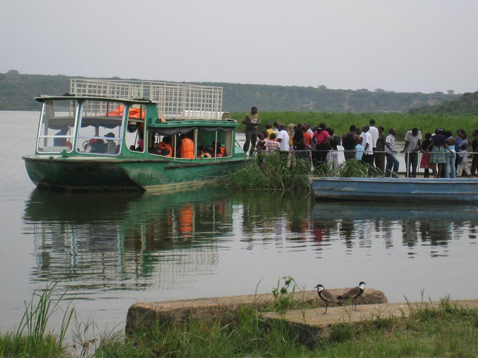 Boat cruise on Kazinga channel