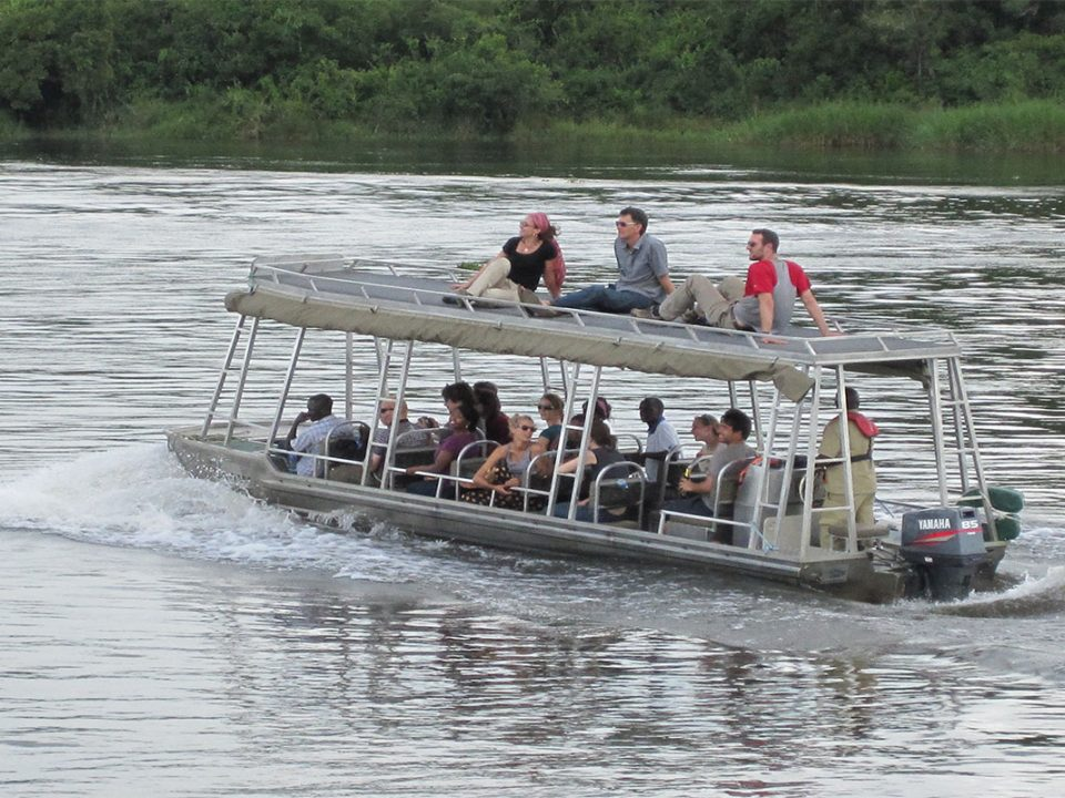 Boat cruise safaris