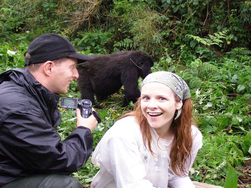 Bwindi four hours gorilla trek experience