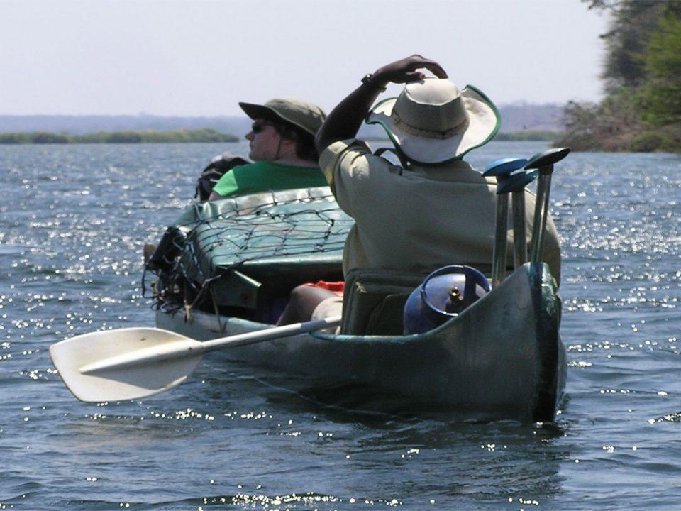 Canoe trips on Kafue River