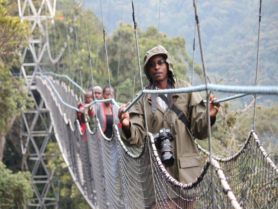 Rwanda canopy walk adventures