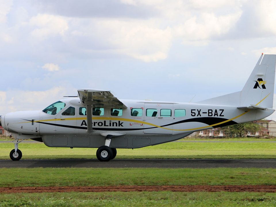 Domestic flights from Kisoro to Entebbe