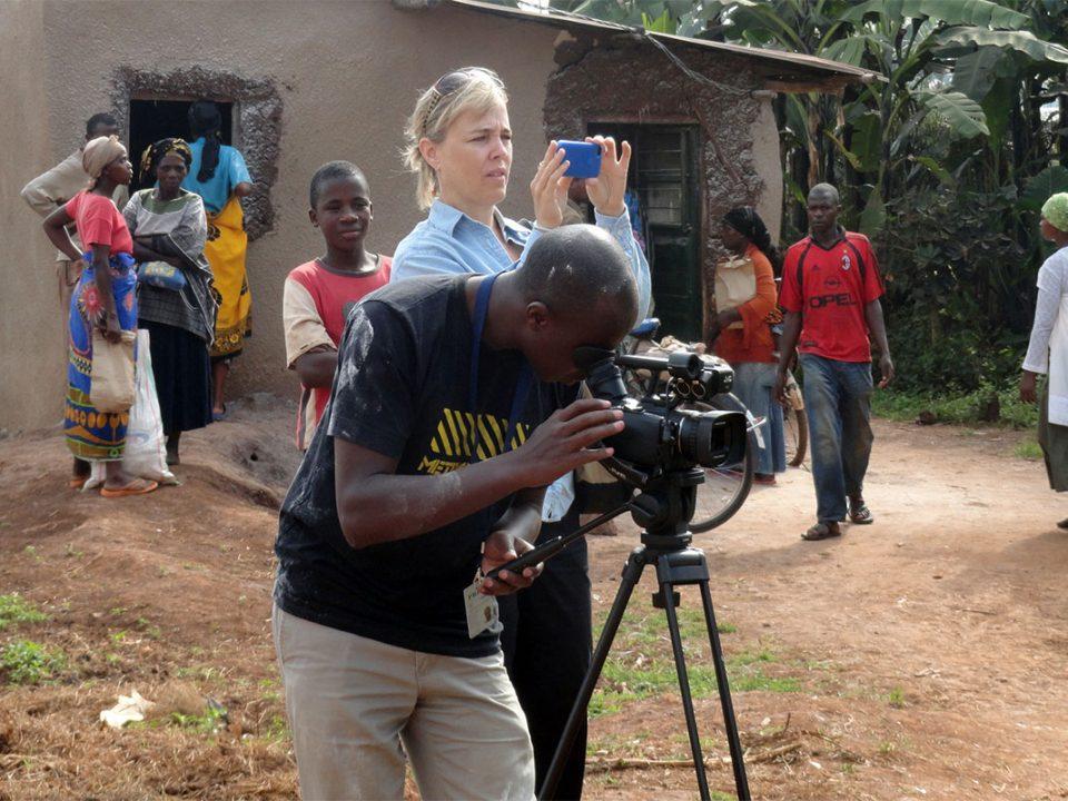 Film production fixers in Uganda-Rwanda