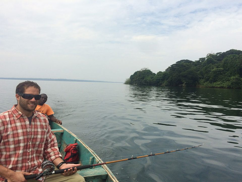 Fishing license for Nile perch on lake Victoria