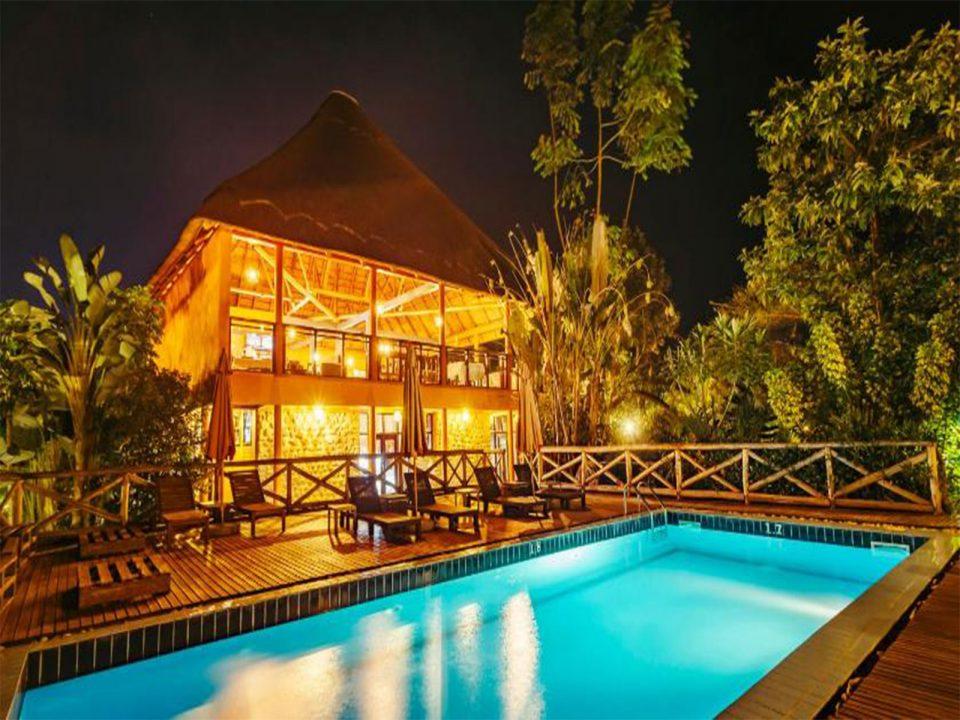 Luxury five volcanoes boutique hotel
