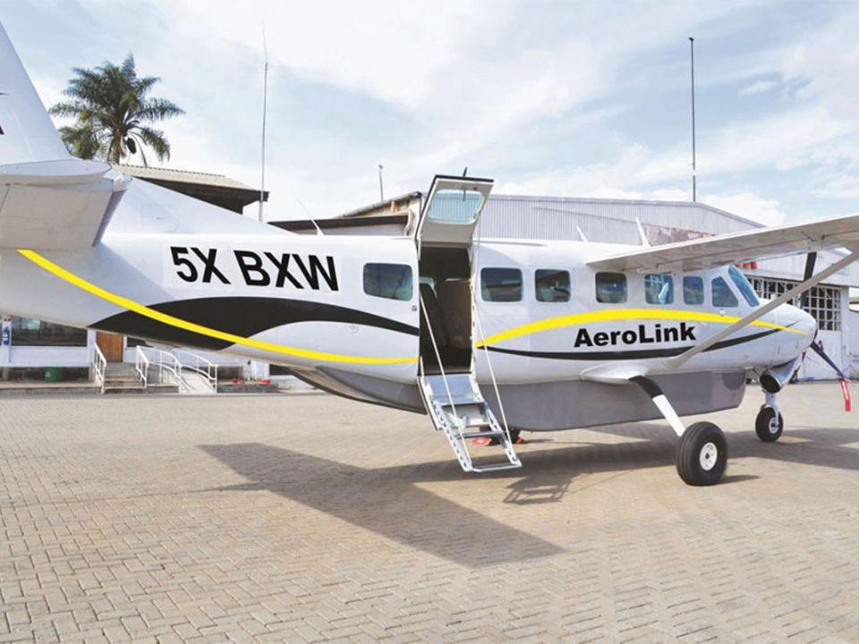 Flight to Bwindi impenetrable National Park