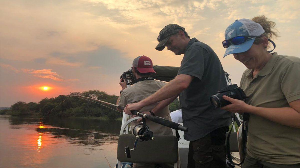 Full day fishing safari Murchison falls