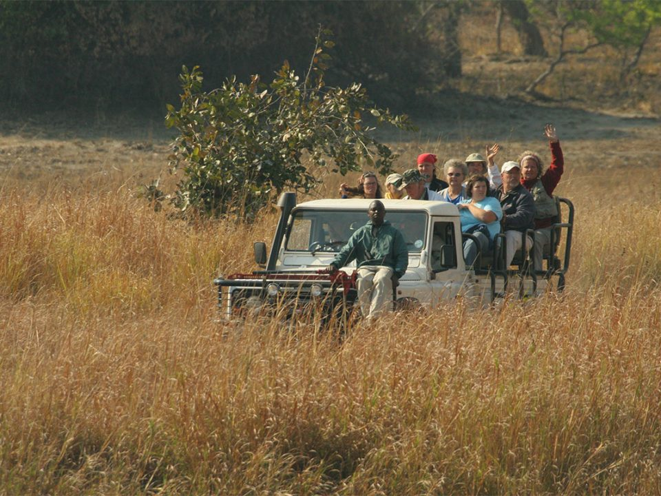 Game drives in Kafue National pak