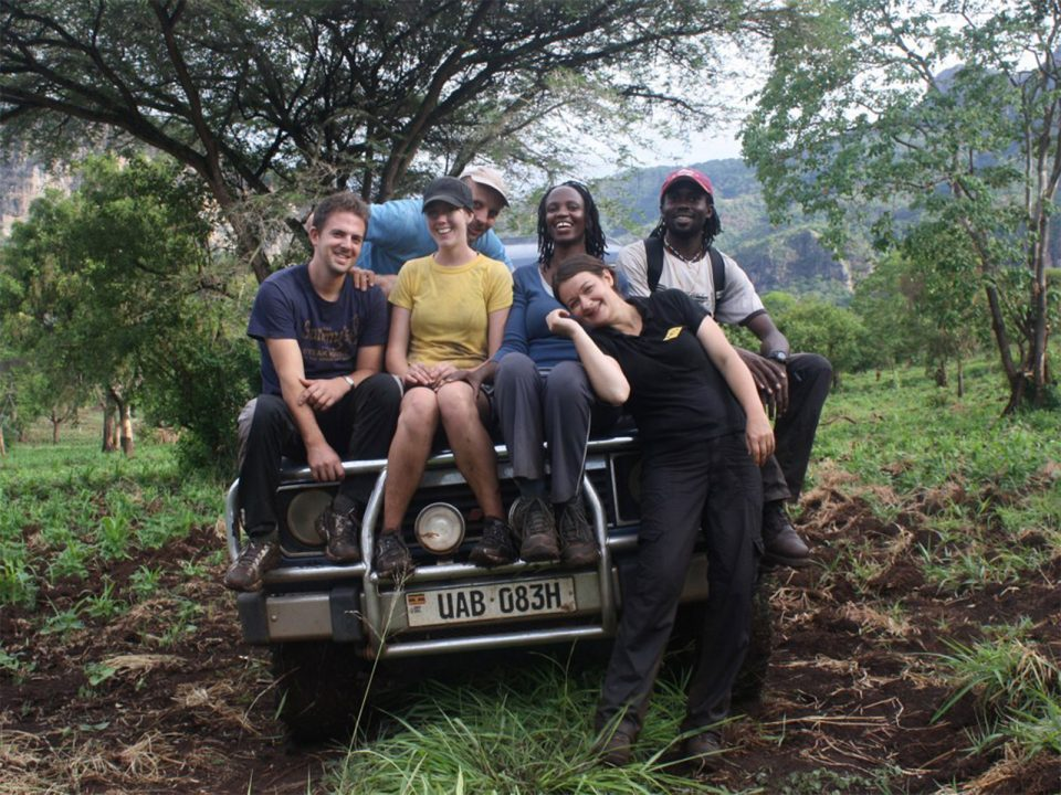 Game drives in Pian Upe wildlife reserve