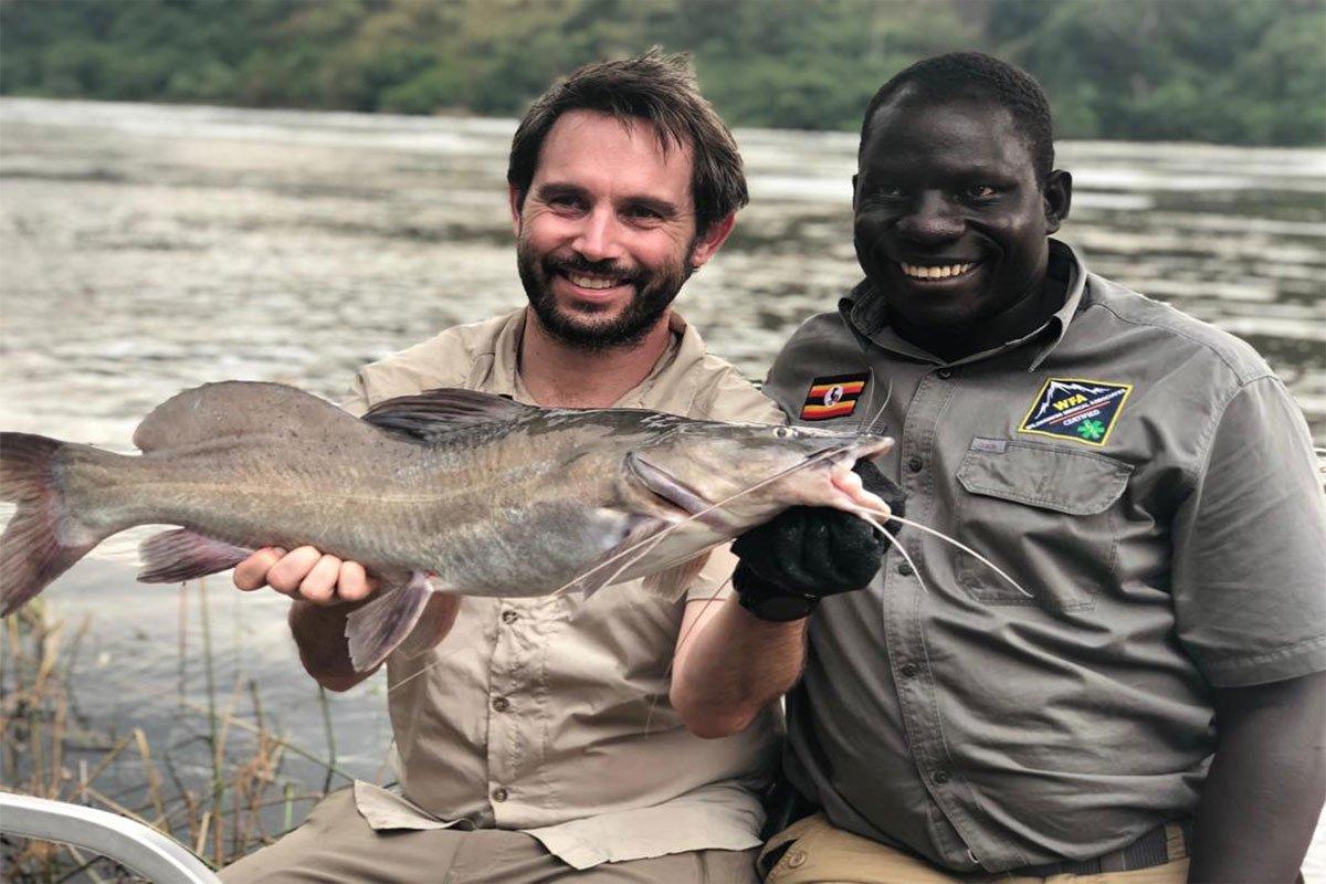 Half day fishing safari Murchison falls