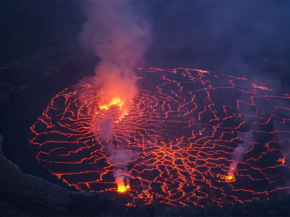 How to get to Mount Nyiragongo volcano