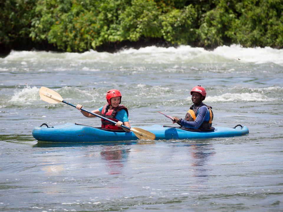 Kayaka cruise on thr nile in jinja