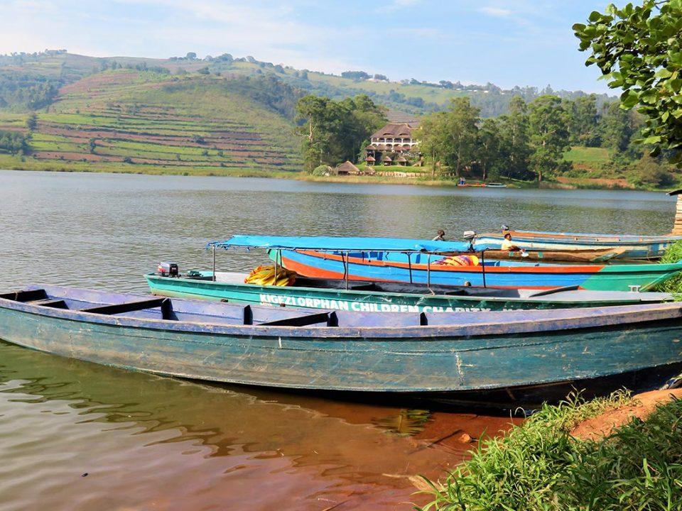 Lake Bunyonyi kabale Uganda, Greta adventures Uganda