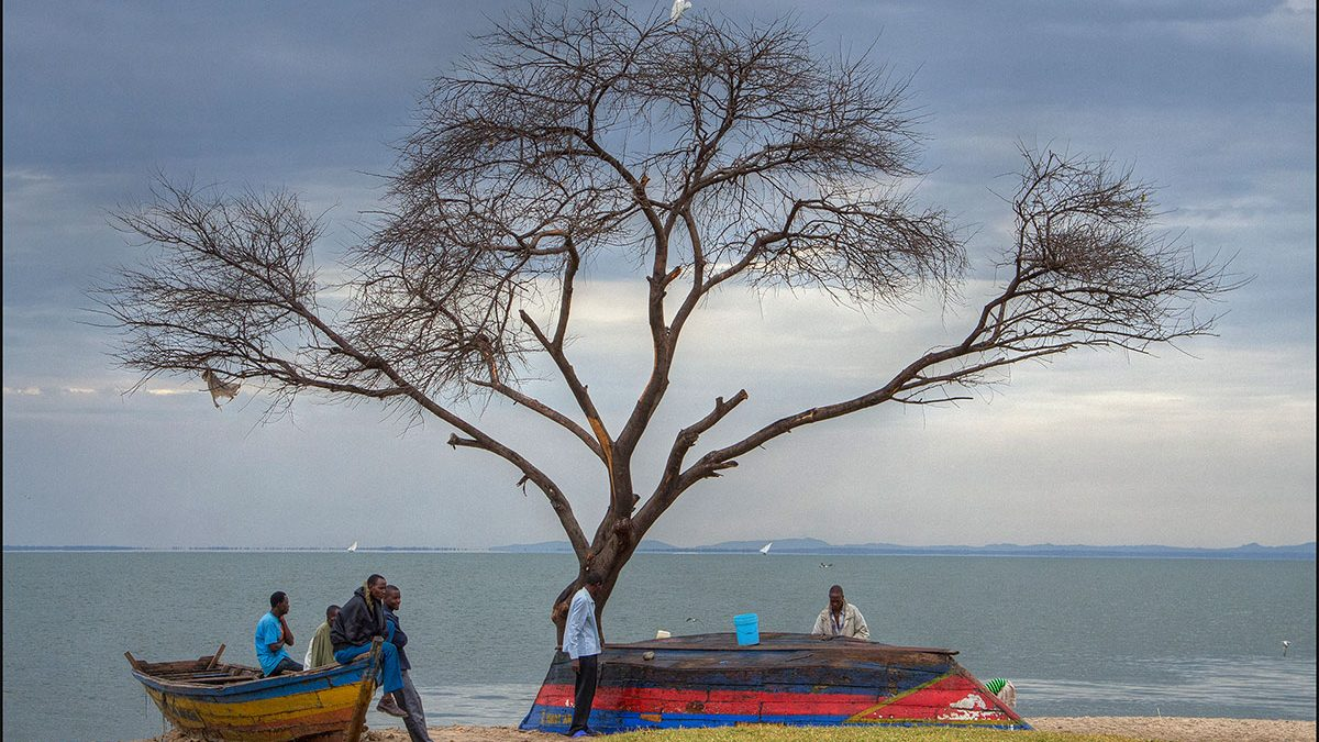 Lake Victoria in Africa