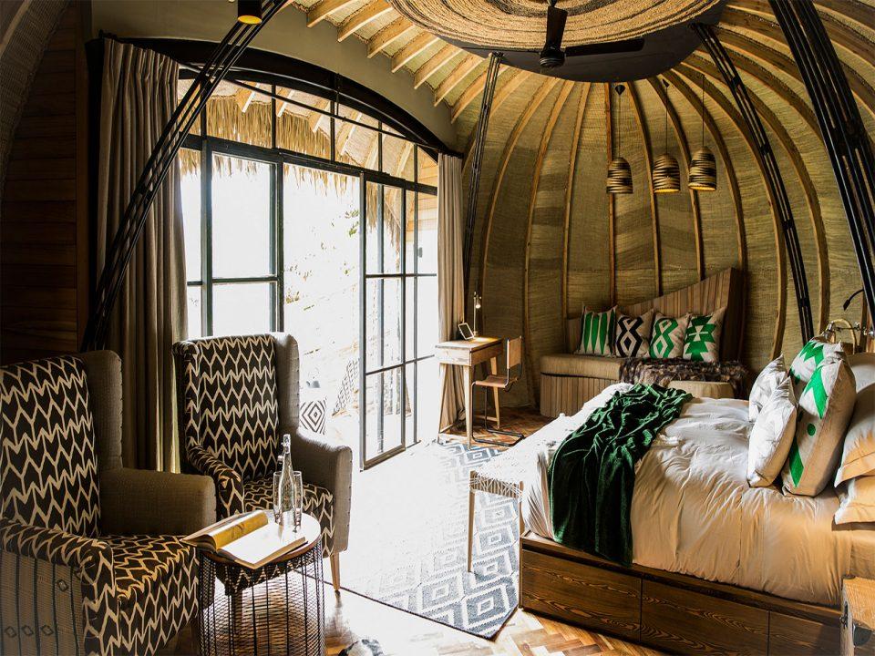 Luxury bisate lodge rwanda