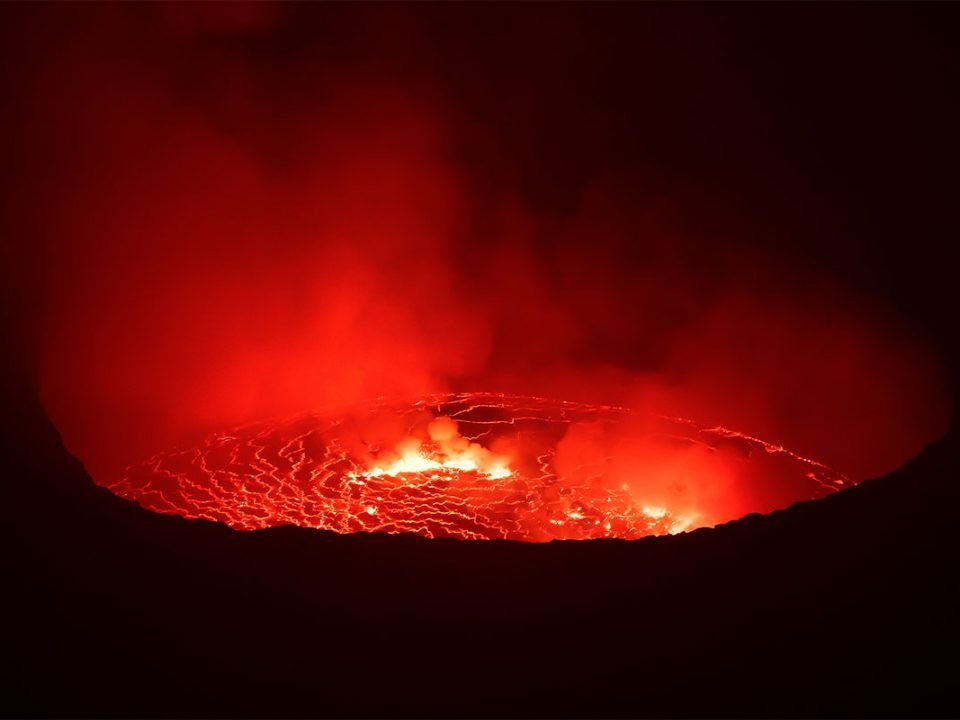 Mount Nyiragongo hiking permit and cost