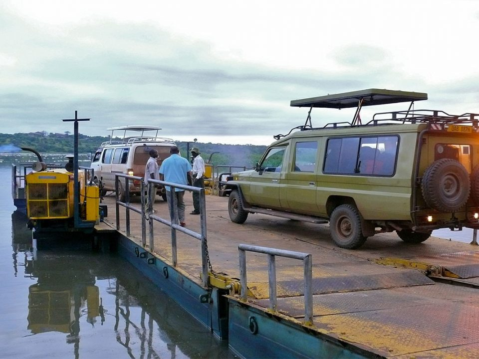 Murchison falls ferry crossing