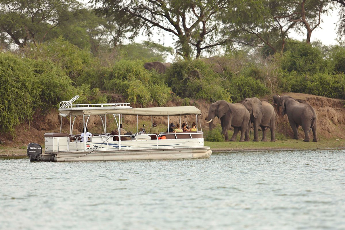 Mweya boat cruise on the Kazinga channel