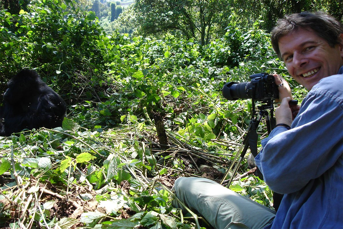 My first time gorilla tracking experience