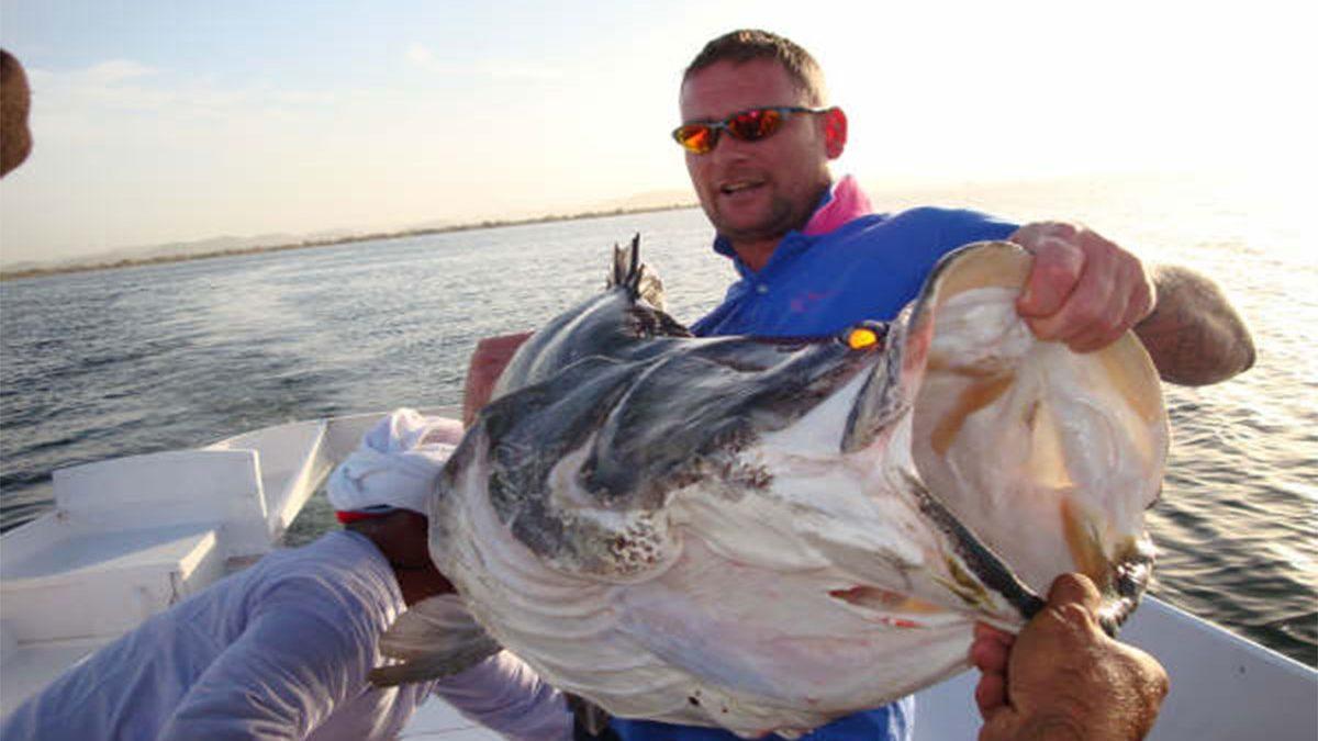 Nile perch fish