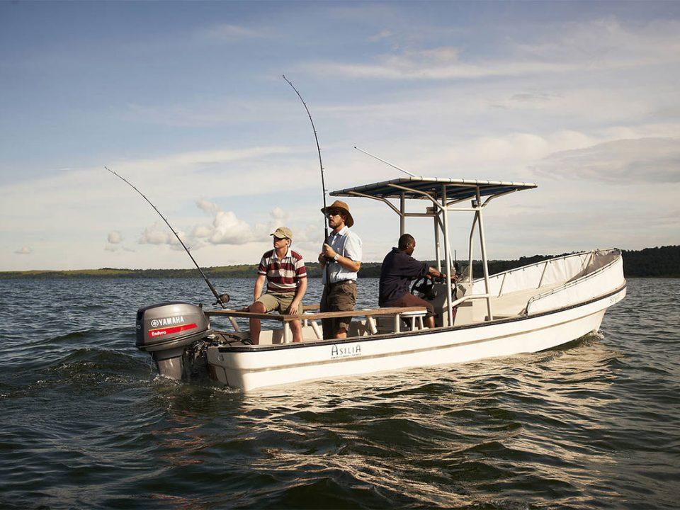 Nile perch fishing boat