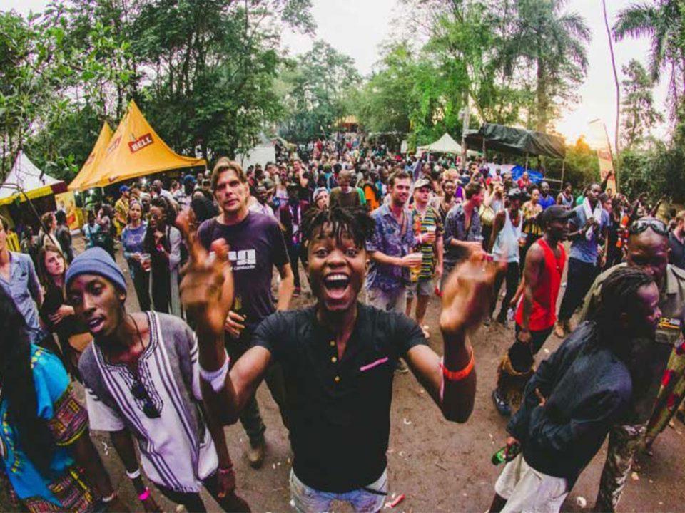 Nyege nyege music festival in Jinja Uganda