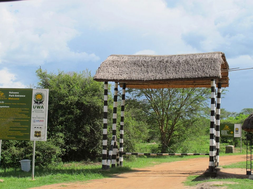 Park entry fees to Lake Mburo