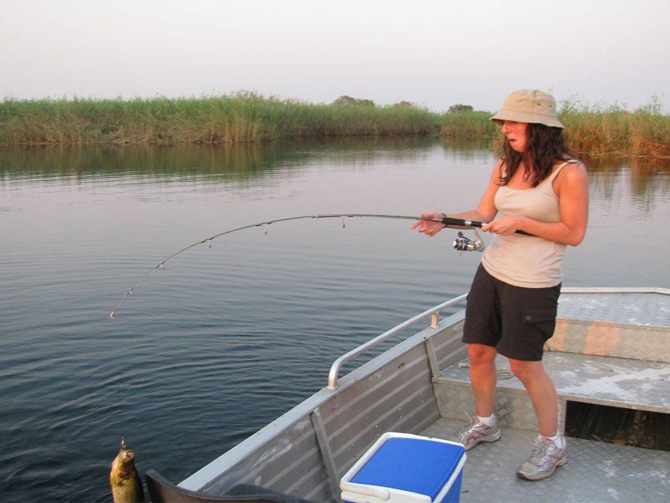 Fishing permits for Nile perch fishing in Murchison falls