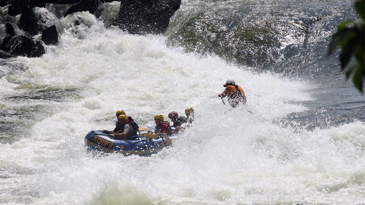 Nile river white water rafting