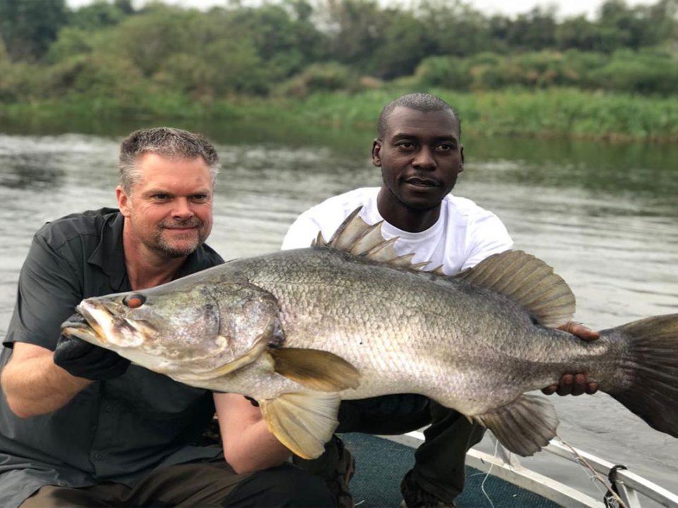 Sport fishing in Murchison falls