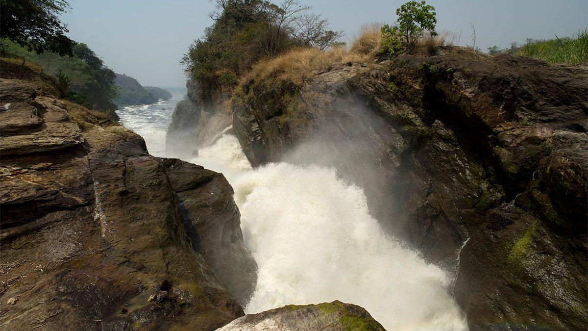 Victoria Nile in Uganda