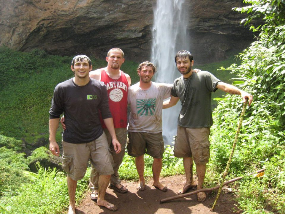 Visit sipi falls in Uganda